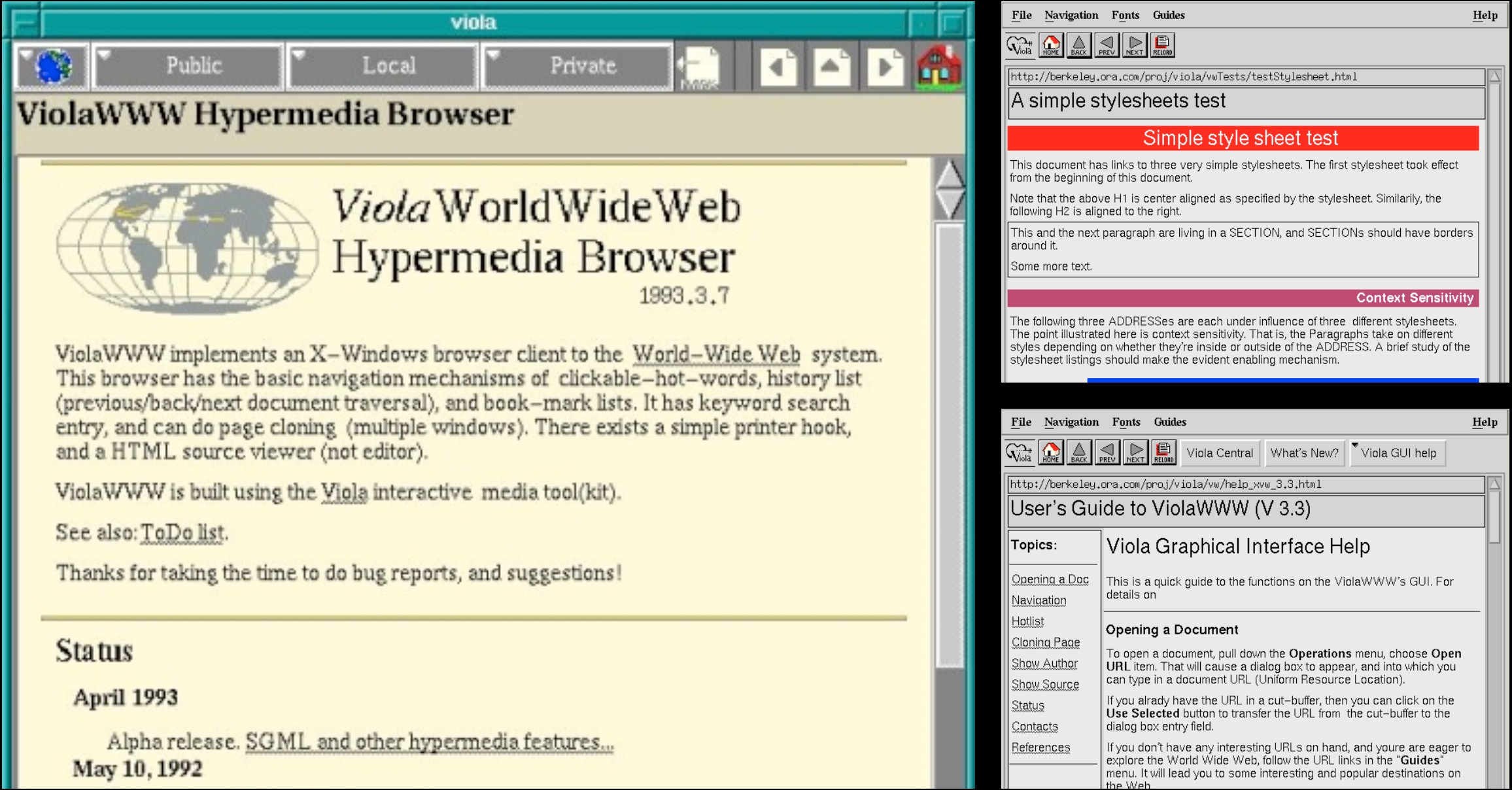 the viola browser