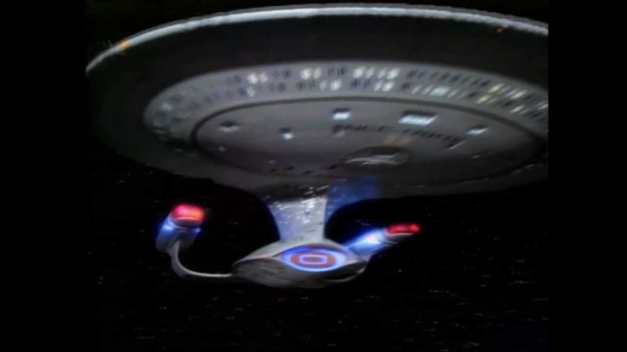 USS Enterprise,  from Star Trek The Next Generation opening credits